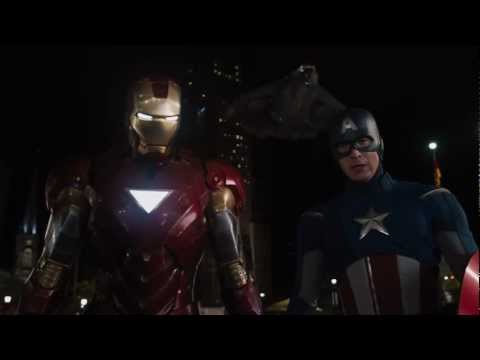 Iron Man's Entrance - The Avengers (Iron Man meets Captain America)