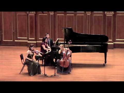 Boston Trio ~ Gabriel Fauré's Piano Trio in D minor, Mov. 1