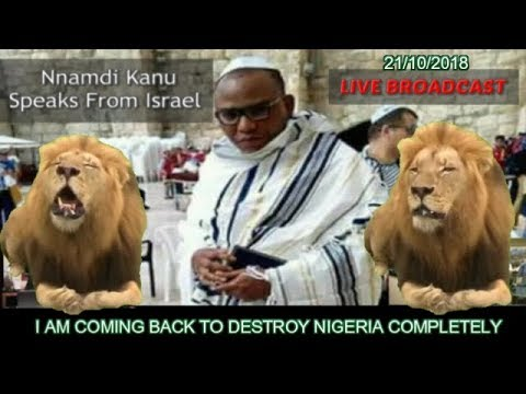 I AM COMING BACK - Chronicle Of The Return Of Nnamdi Kanu