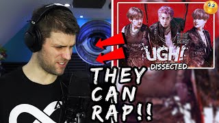 Rapper Reacts to BTS 'UGH' | THEY CAN RAP RAP!!