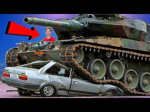I Crushed My Neighbors Car with a Tank... REVENGE!