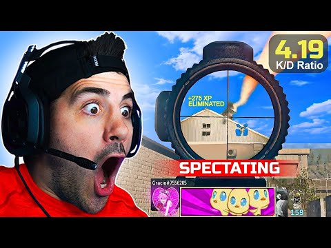 """I Spectated The """"#1 Girl Warzone Player"""" in Solos! 🤯"""