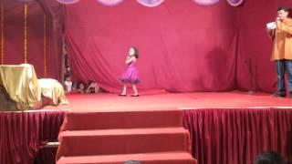 Saat samundar paar dance by 5yr old Nitya Amit Achari