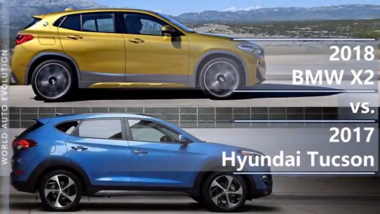 BMW Of Tucson >> 2018 Bmw X2 Vs 2017 Hyundai Tucson Technical Comparison