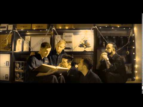 Backstreet Boys in Swedish commercial! - Christmas edition! *Lager than life*
