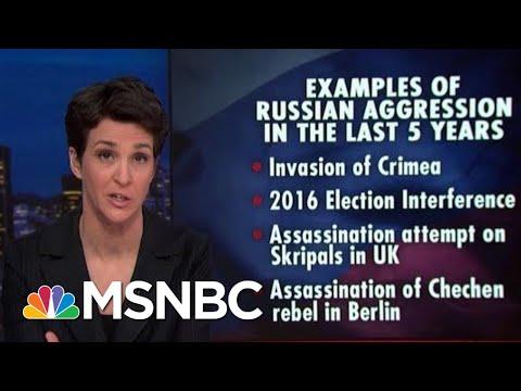 Russian Transgressions Met With increasingly Weak US Response | Rachel Maddow | MSNBC