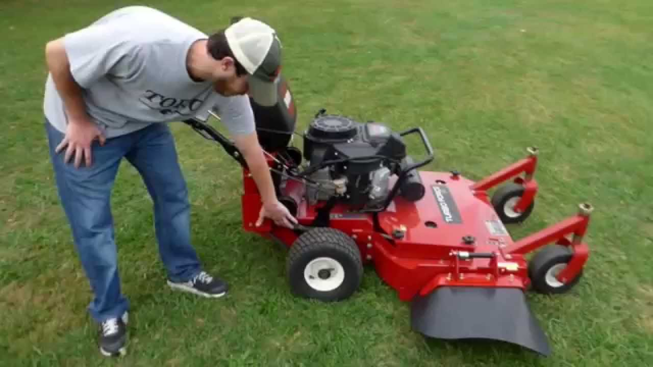 Toro Commercial Mid Size Fixed Deck Walk Behind Mower