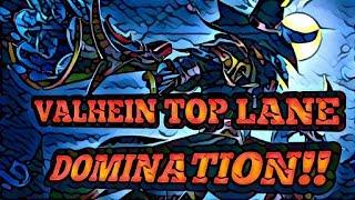Strike of Kings 5v5 Valhein gameplay top lane!  new mobile MOBA on iOS!! Valhein archer best build!!