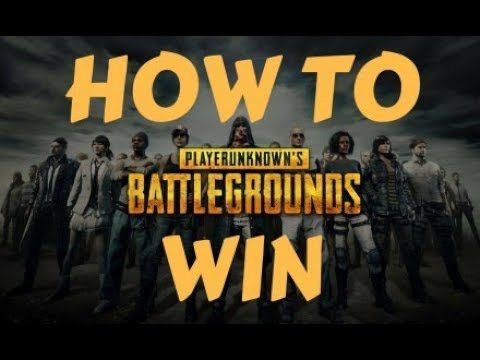 How to WIN - Playerunknown's Battlegrounds Xbox
