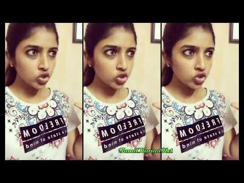 Tamil cute girl Sindhuja Dubsmash Collection / sindhu Fun dubsmash thumbnail