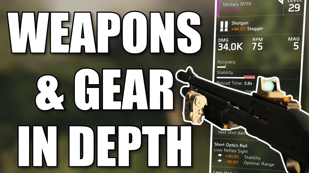 The Division 2 | New Weapons, Gear & Modding Systems Explained