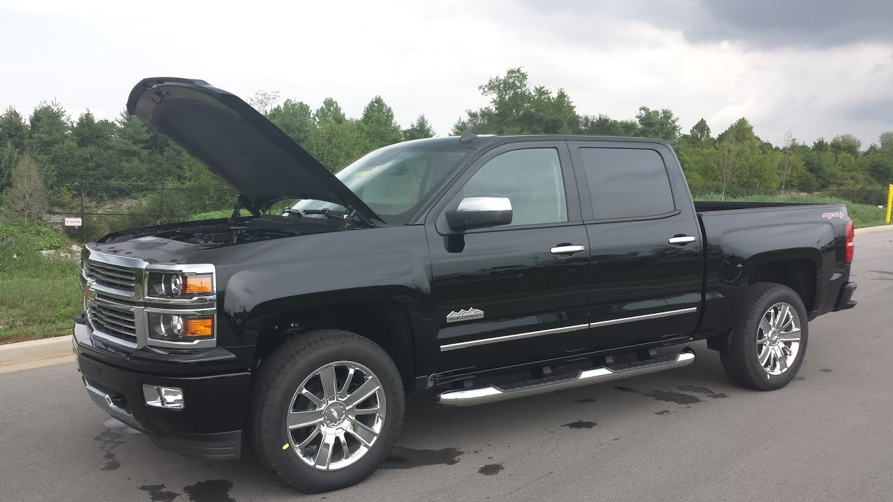 sold 2014 chevrolet silverado high country crew cab 1500 6 2l black www wilsoncountymotors com [ 1280 x 720 Pixel ]