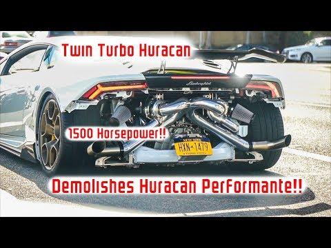 1500hp Twin Turbo Lamborghini Huracan...