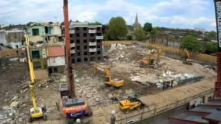 Cantillon Demolition - Packington Estate Demolition, London 2010