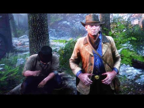 RDR2 Arthur & Pearson Singing (Beaver Hollow Sadness) - Red Dead Redemption 2 thumbnail