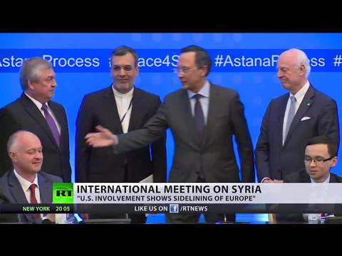 UN chief welcomes Syria de-escalation zones brokered by Russia, Turkey & Iran