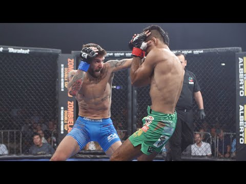 Marcelo Rojo vs Victor Madrigal Full Fight | MMA | Combate Guadalajara