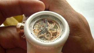 Invicta Russian Diver Mechanical White Polyurethane and White Ceramic