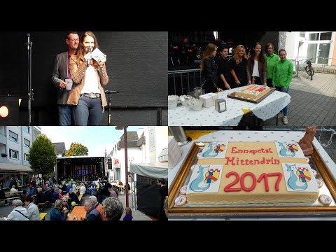Imke Heymann eröffnete Ennepetal Mittendrin Fest, Sa.23.09.2017–24.09.2017