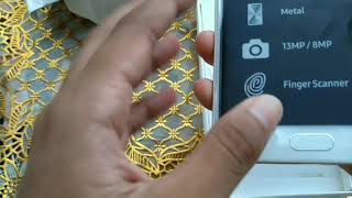 Unboxing smart phone android Samsung galaxy j7 prime