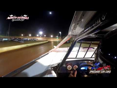 #4F Mike Franks - A-Hobby - 4-28-18 North Georgia Speedway - In Car Camera