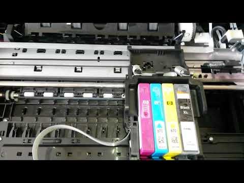 Barulho de metralhadora na impressora HP 5525 - Engrenagem travando..