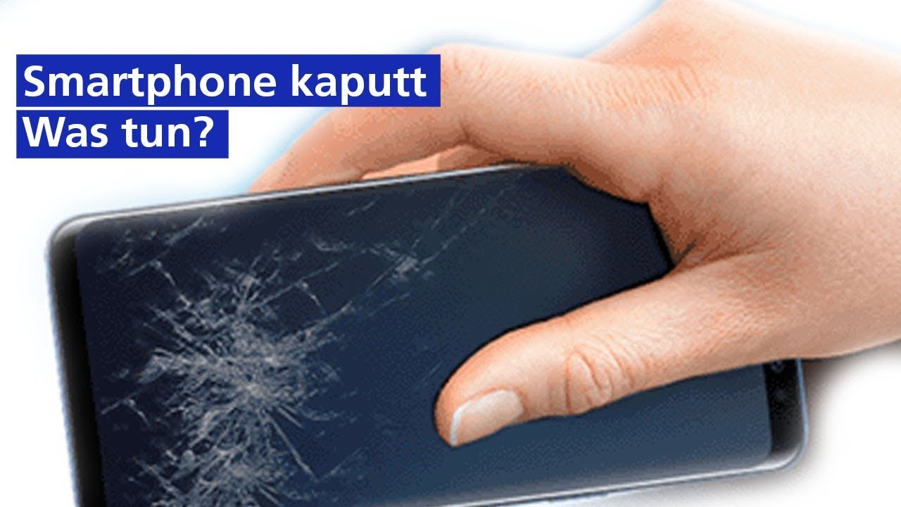 Displaybruch und Wasserschaden: Smartphone kaputt, was tun? - 1&1 ...