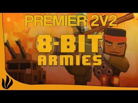 [FR] 8-Bit Armies - 2v2 #1 - On test le...