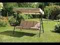 The Marvelous and Sturdy Patio Swings With Canopy