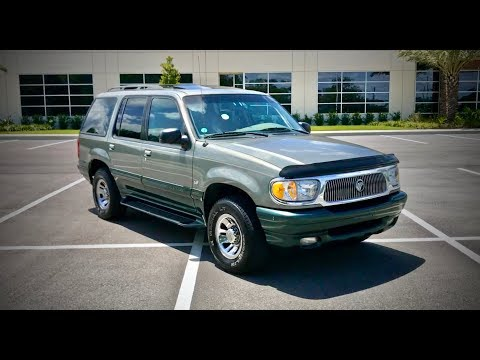 1999 Mercury Mountaineer 5.0L V8 Review And Test Drive
