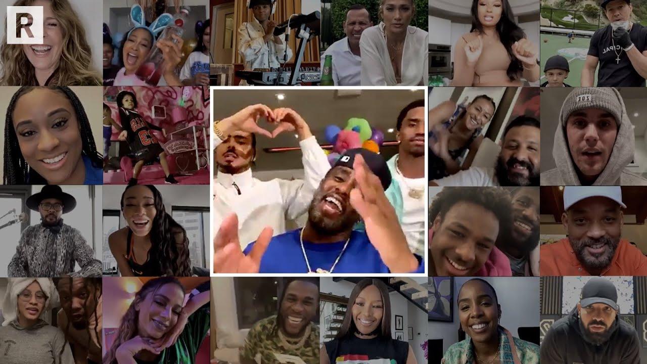 Diddy's Dance-A-Thon ft. J Lo, Drake, Lebron James, Cardi B, Justin Bieber, Will Smith, Lizzo &