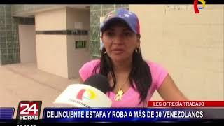 VES: detienen a sujeto por estafar y robar a más de 30 venezolanos