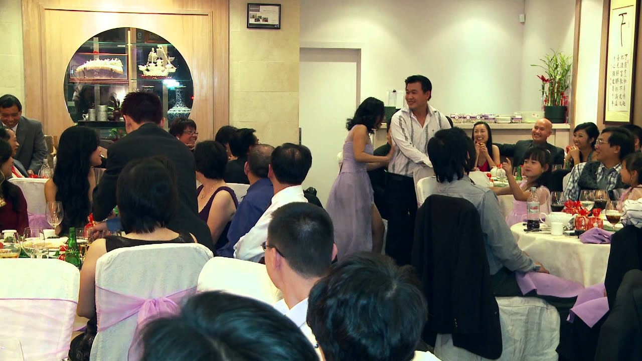 A Wedding Game At A Vietnamese Wedding Reception Toronto