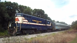 Florida Gulf Coast Train Chasing From Parrish To Willow Florida