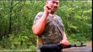 Война видео Украина   РЕАЛЬНЫЙ БОЙ ! Перестрелка между Нацгвардией и ополченцами