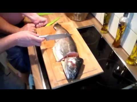 Стейки из форели на сковороде, пошаговый рецепт с фото
