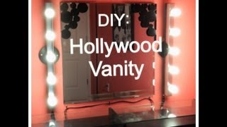 Diy Saturday: Hollywood Vanity
