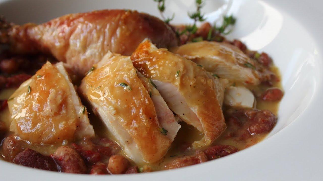 Salt-Roasted Chicken Recipe - Roast Chicken with Thyme ...