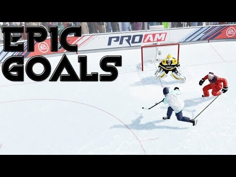 epic goal compilation(NHL19)