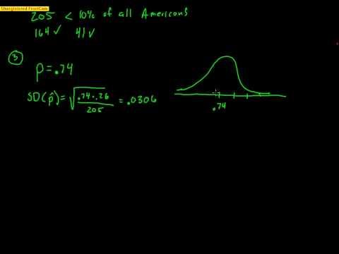 AP Statistics: Hypothesis Test for 1 Proportion Sample (2014)