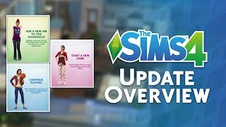The Sims 4: November 2018 Content Update Overview