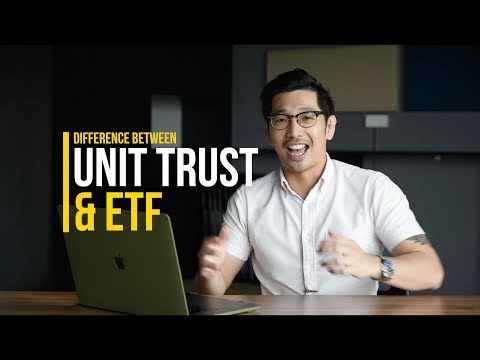 ETF vs Unit Trust/Mutual Fund. What is the Difference? [3mins] [ETF MALAYSIA]