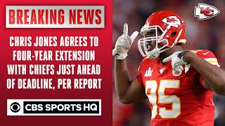 Chris Jones agrees to four-year extension with Chiefs, per report | CBS Sports HQ