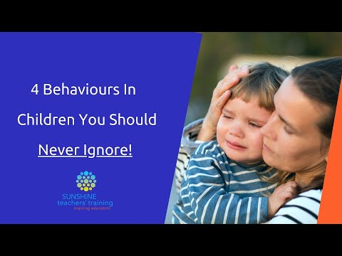 4 Behaviours in Children You should Never Ignore