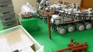 レゴ スターウォーズ キャッシーク ジオラマ作成途中 1