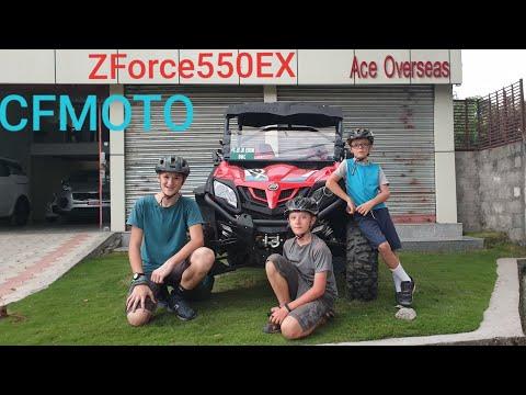 CFMOTO  1st time in NEPAL   ZForce 550EX  4x4    Drift & Drive part II 4K