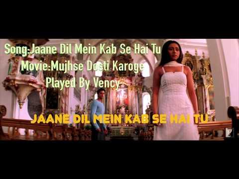 Jaane Dil Mein Kab Se Hai Tu Instrumental With Lyrics Free Download 
