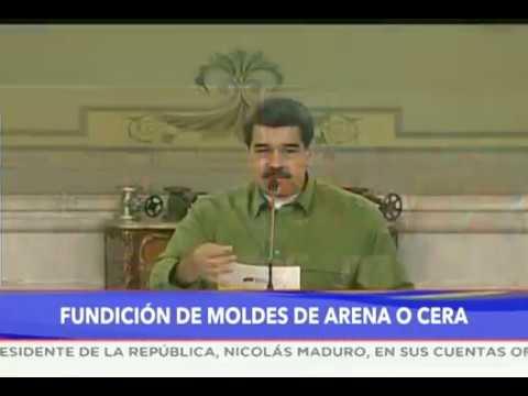 Presidente Nicolás Maduro en el Parque Tecnológico Hugo Chávez, 28 agosto 2019