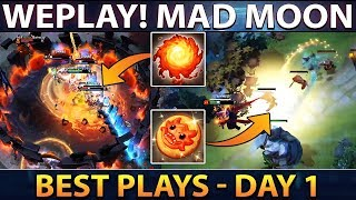 WePlay! Mad Moon - Best Plays Day 1 - Dota 2
