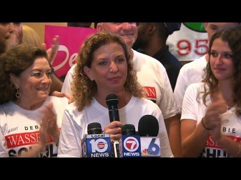 Debbie Wasserman Schultz wins Florida primary